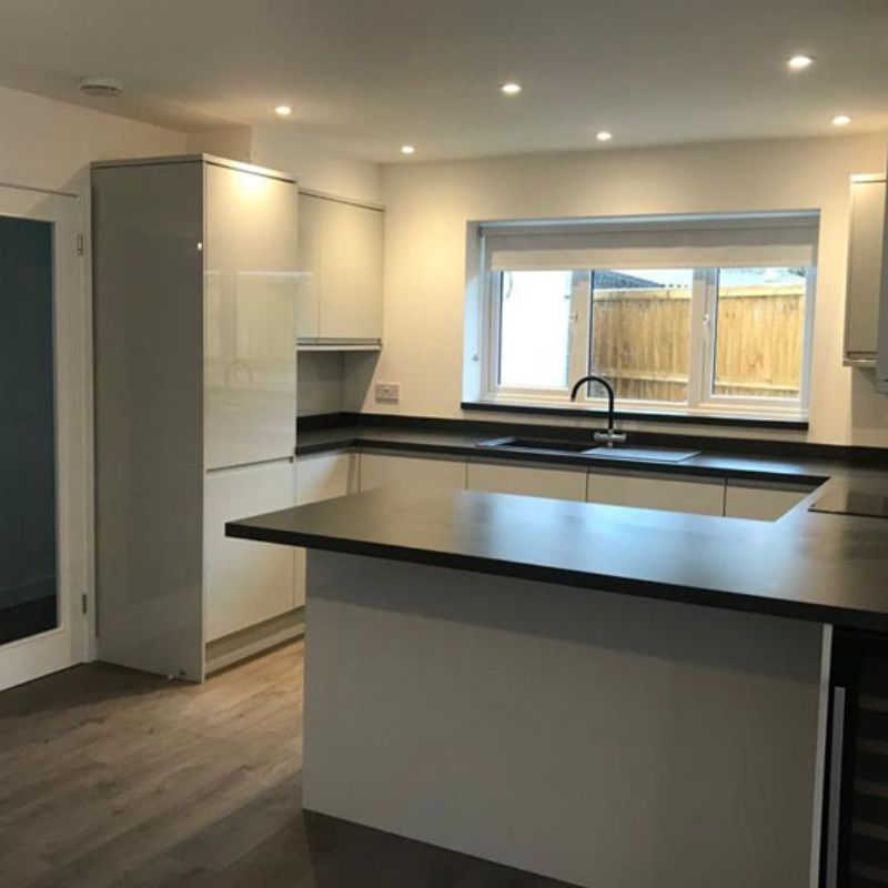 New Build Interior plus Rear Extension Gallery Image - JW Construction and Property Maintenance